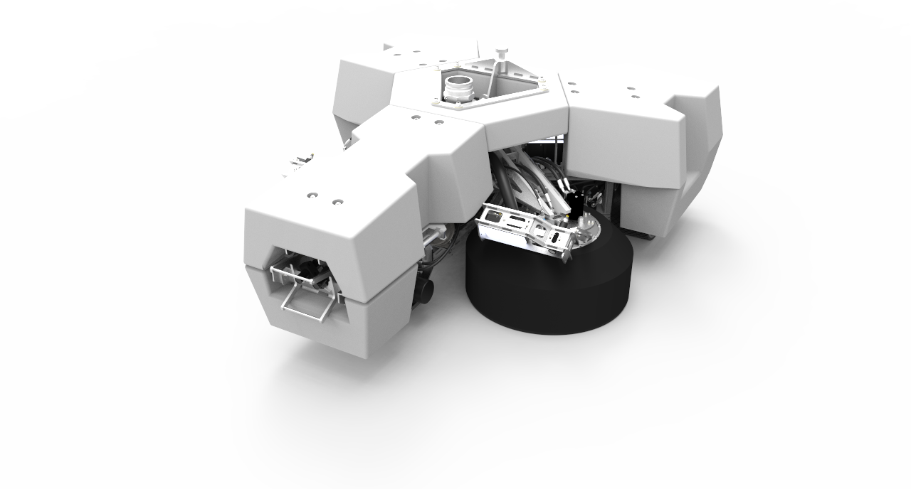 Fleet Cleaner hull cleaning robot